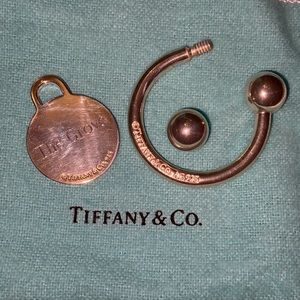 Authentic Tiffany & Co. Key Ring